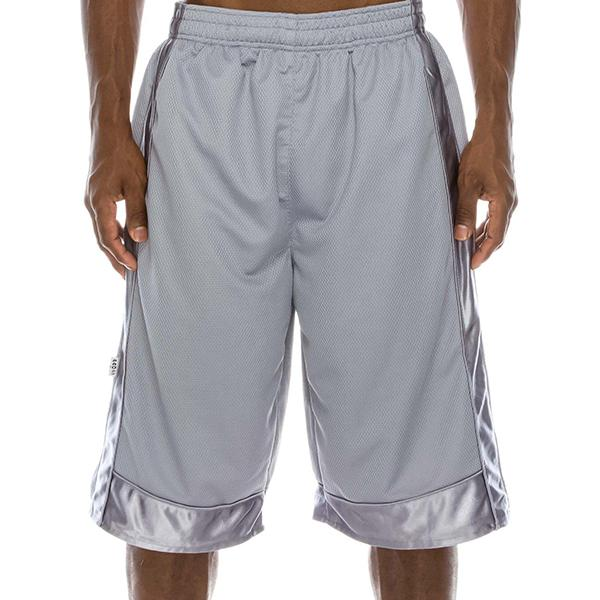 Heavyweight Mesh Shorts - Cool Grey - Million Dolla Motive