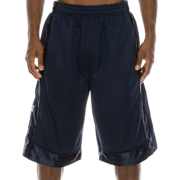 Heavyweight Mesh Shorts - Navy - Million Dolla Motive