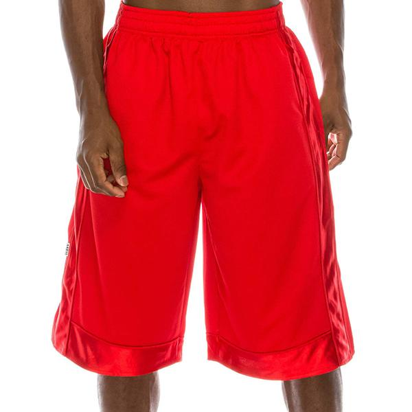 Heavyweight Mesh Shorts - Red - Million Dolla Motive