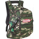 Keep Hustlin - Green Camo Backpack