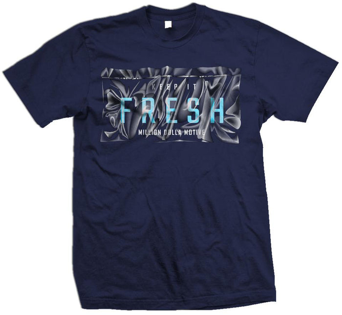 Keep It Fresh Bag - Navy T-Shirt