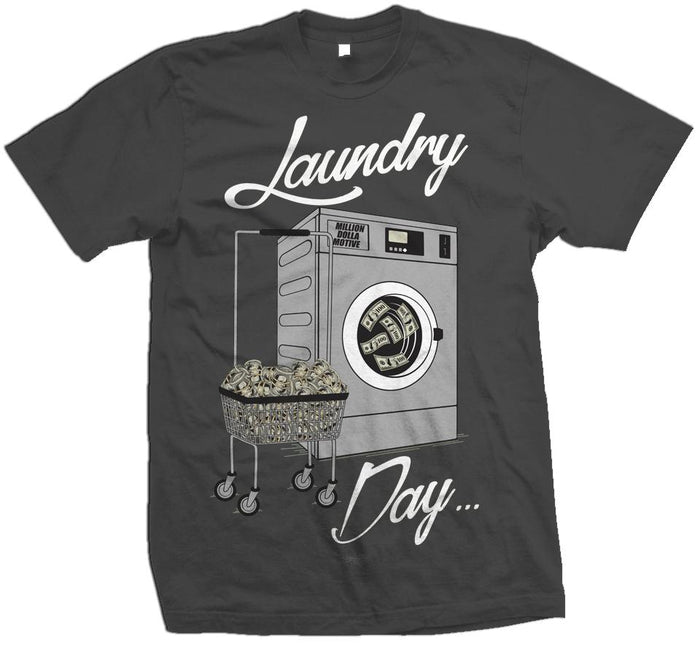 Laundry Day -  Dark Grey T-Shirt