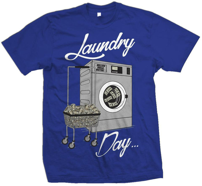 Laundry Day - Royal Blue T-Shirt