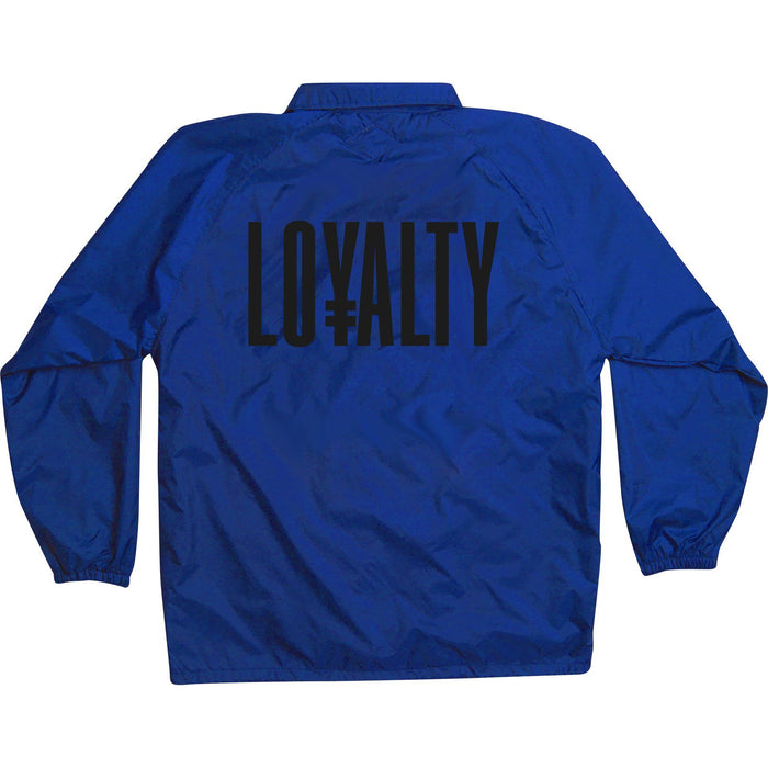Loyalty - Royal Blue Coach Jacket