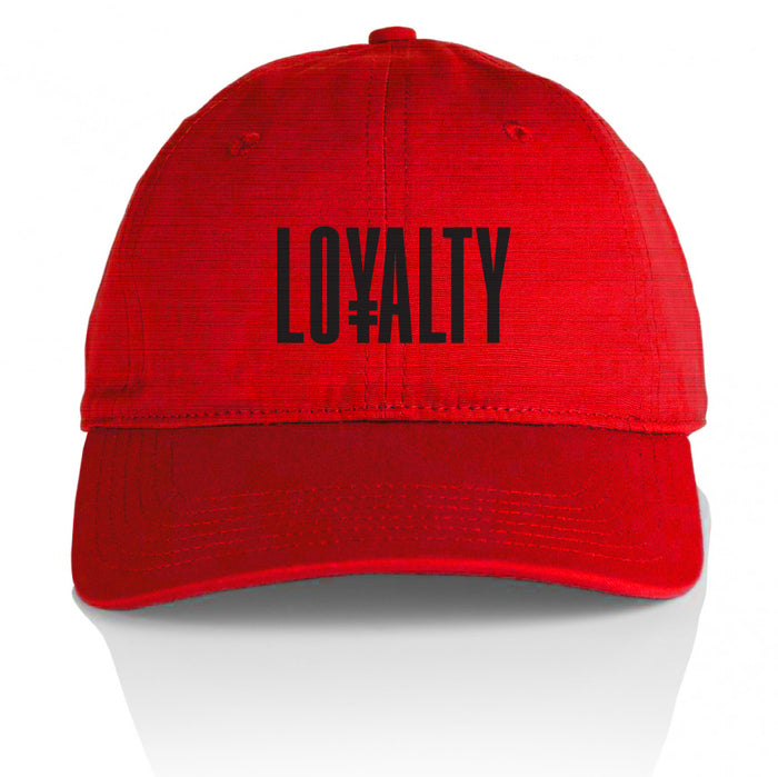 Loyalty - Red Dad Hat