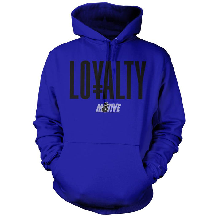 Loyalty - Royal Blue Hoodie Sweatshirt