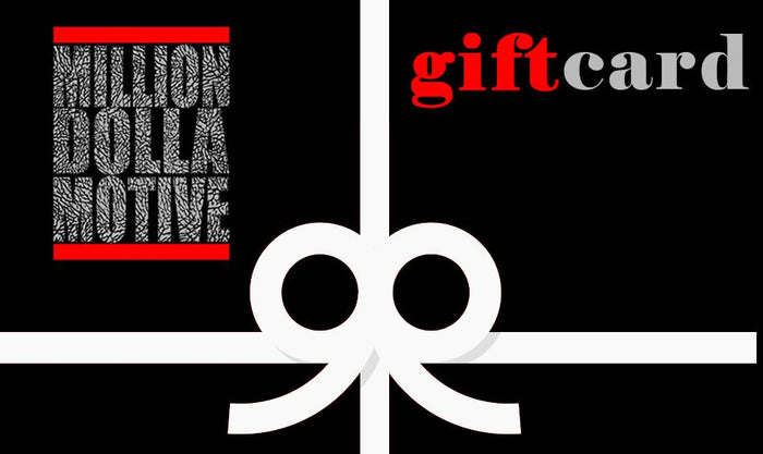 Gift Card - Million Dolla Motive