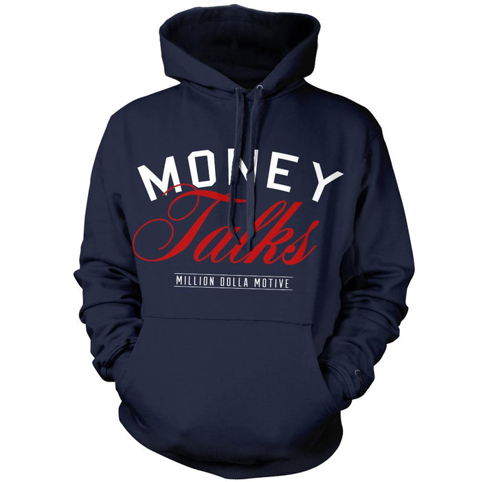 Money Talks - Navy Hoodie Sweatshirt