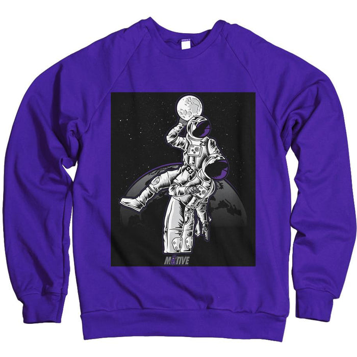 Moonman Dunk - Concord Purple Crewneck Sweatshirt