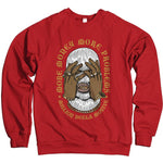 More Money More Problems - Red Crewneck Sweatshirt