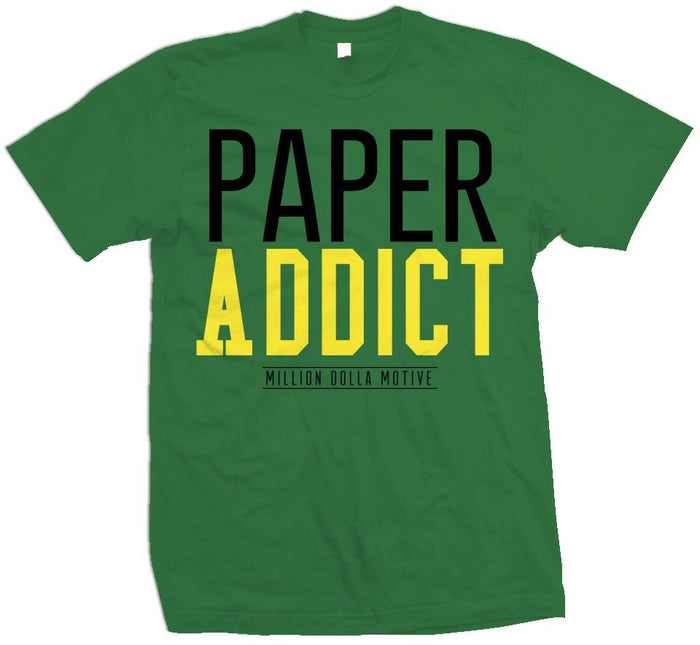 Paper Addict - Apple Green T-Shirt