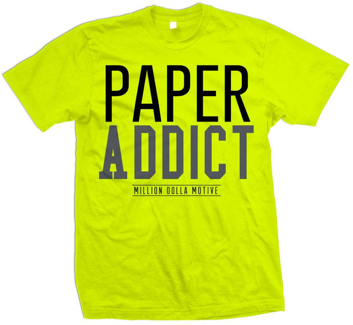 Paper Addict - Volt Yellow T-Shirt