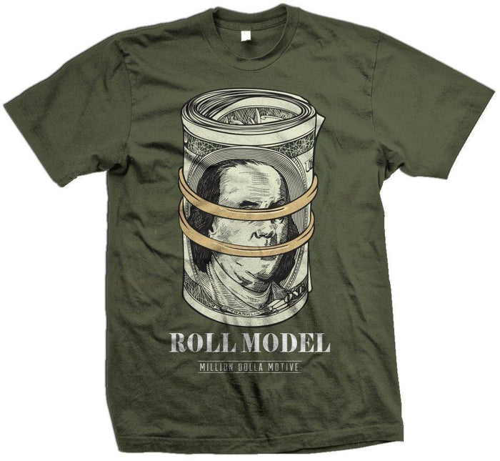 Roll Model - Olive T-Shirt - Million Dolla Motive