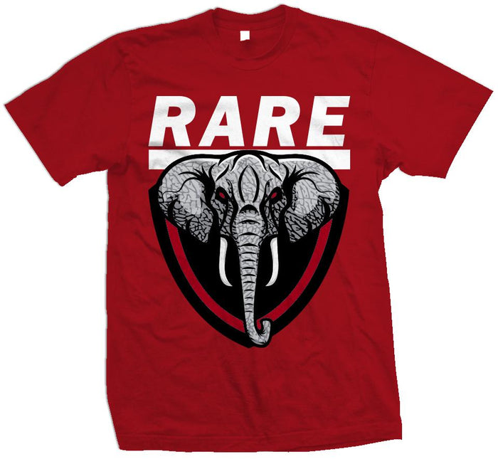 Rare Elephant - Red T-Shirt