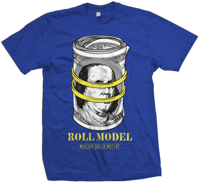 Roll Model - Royal Blue T-Shirt