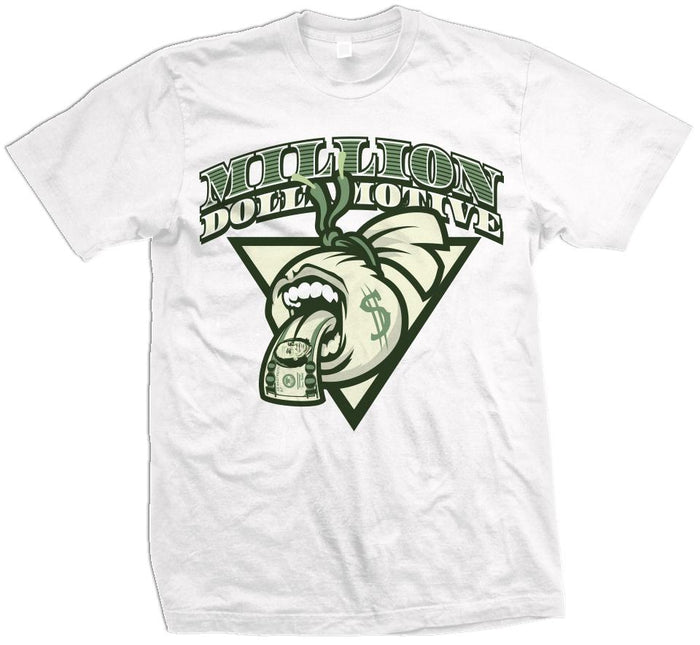 Screaming Mouth Money Bag - White T-Shirt