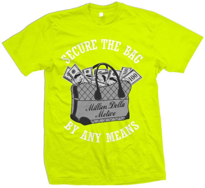 Secure The Bag - Volt Yellow T-Shirt
