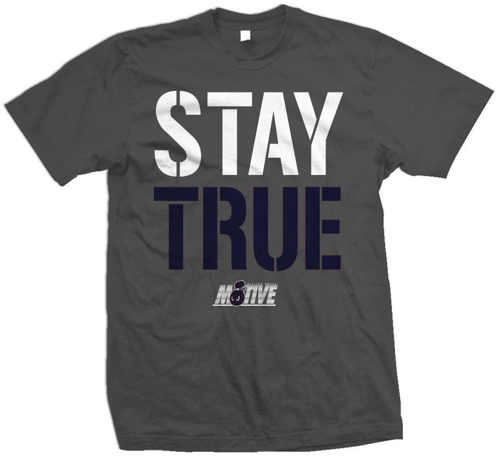 Stay True Flint - Dark Grey T-Shirt