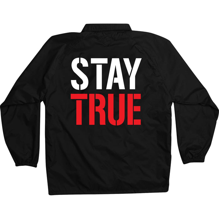 Stay True - Black Coach Jacket