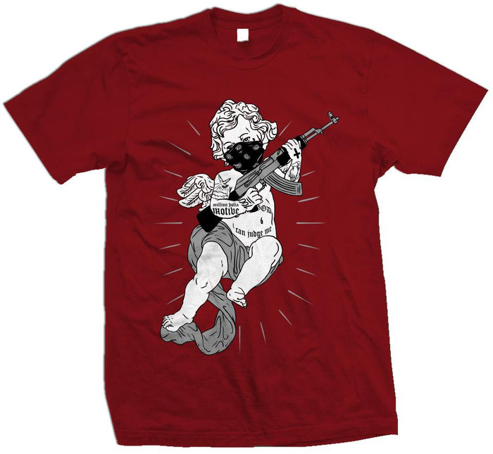 Tattooed Angel - Red T-Shirt