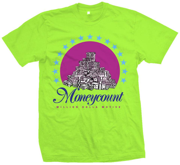 The Moneycount - Ghost Green T-Shirt