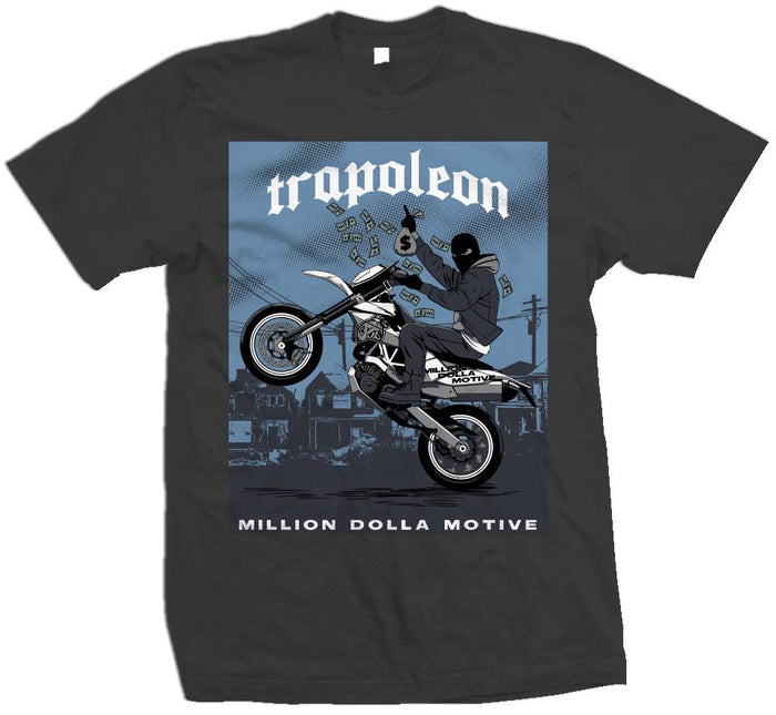 Trapoleon - Dark Grey T-Shirt