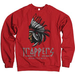 Trappers - Red Crewneck Sweatshirt