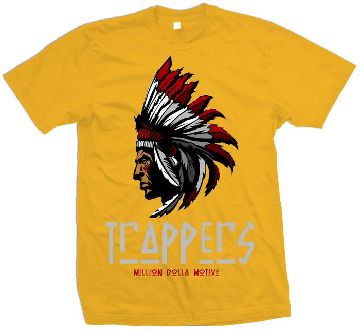 Trappers - Golden Yellow T-Shirt