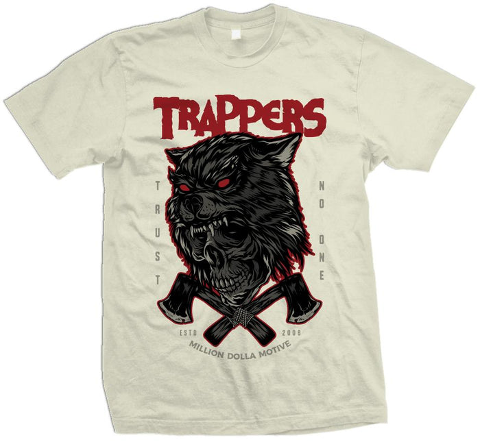 Trappers Trust No One - Natural Sail T-Shirt