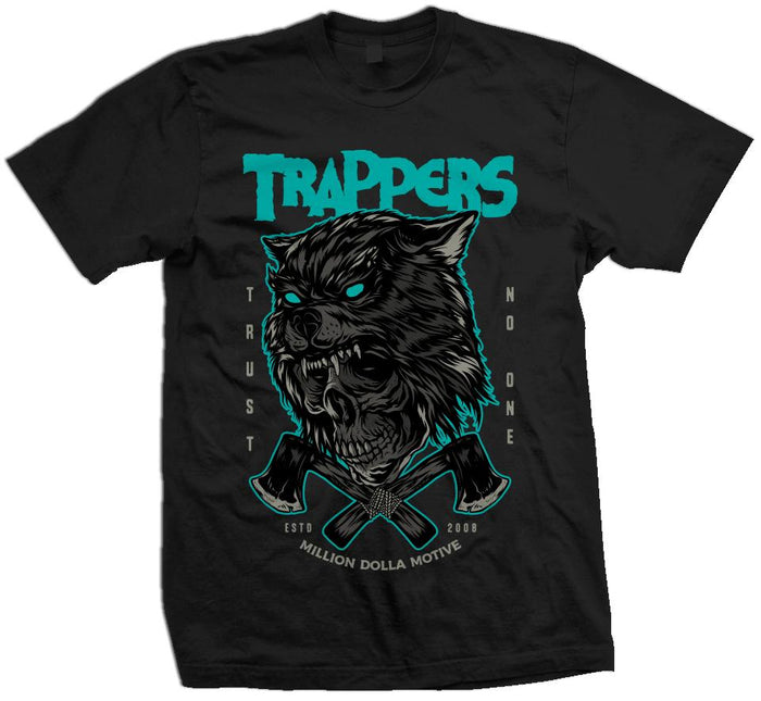 Trappers Trust No One - Black T-Shirt