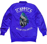Trappers - Royal Blue Bomber Jacket - Million Dolla Motive