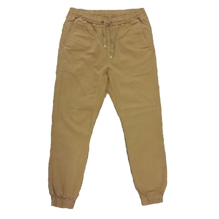 Wheat Twill Joggers - Million Dolla Motive