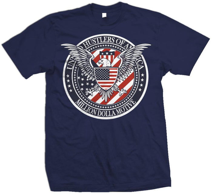 United Hustlers of America - Navy T-Shirt