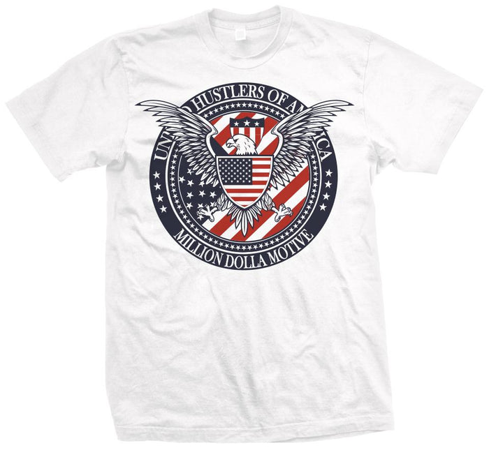 United Hustlers of America - White T-Shirt