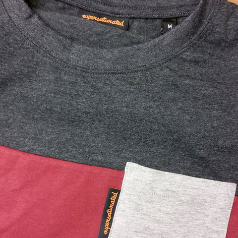 Tri-Tone Pocket T-Shirt , T-Shirts - Supersaturated, Supersaturated  - 2