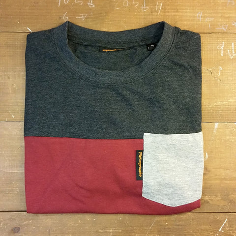 Tri-Tone Pocket T-Shirt