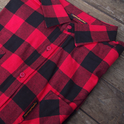 Chequered Flannel Work Shirt