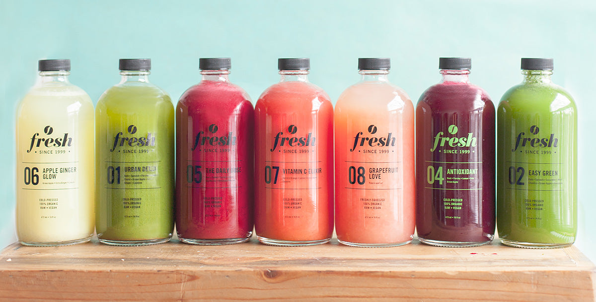 Fresh - COLD PRESSED JUICES AND CLEANSES