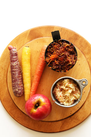 Carrot and Apple Muffin Ingredients