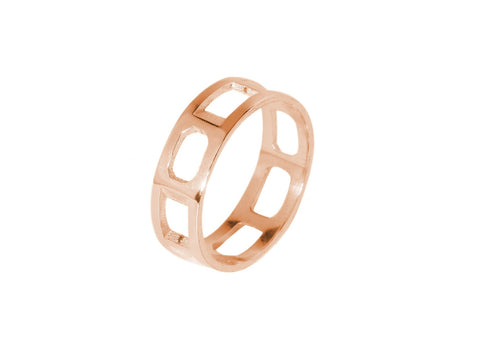 Brilliantine Ring - Rose Gold
