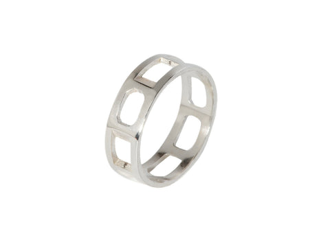 Brilliantine Ring - Silver