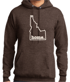 """Idaho home."" Hooded Sweatshirt"