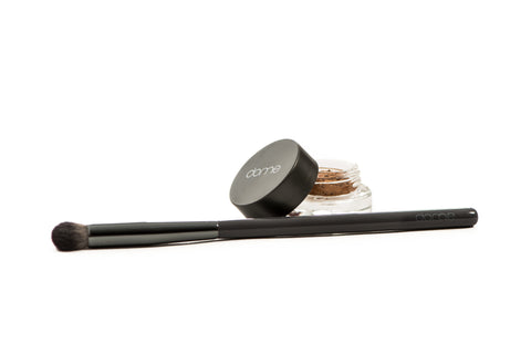 Charcoal Eye Brush  & Eye Jewel Duo