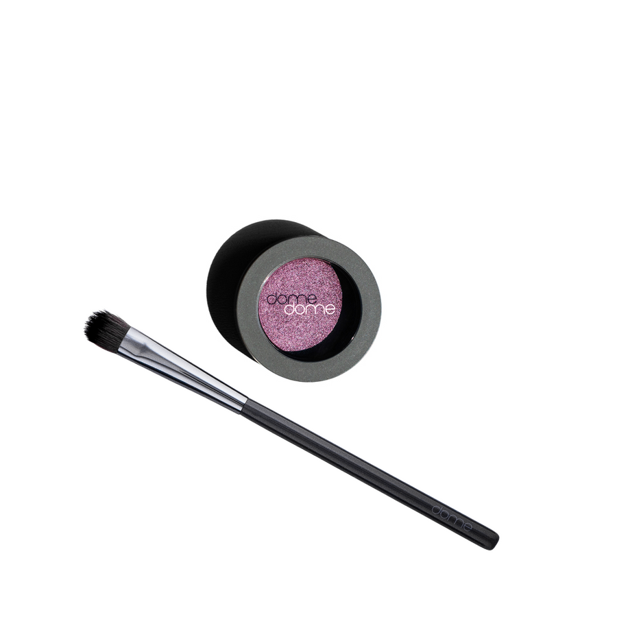 Charcoal infused Flat Shadow Brush