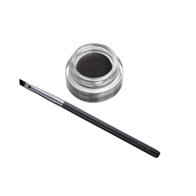 Charcoal infused Angle Eyeliner Brush