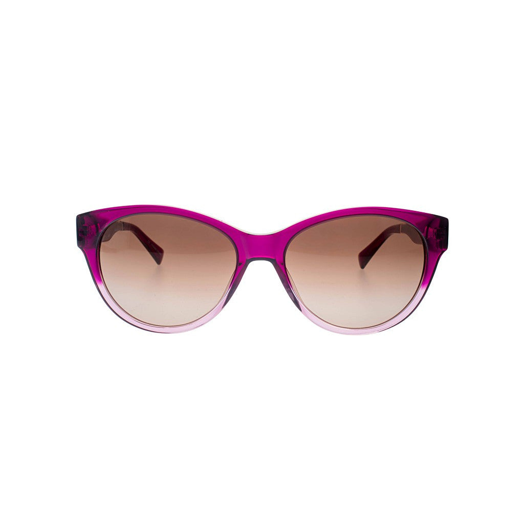 Fuchsia to Rose Gold Gradient Cateye Sunglasses