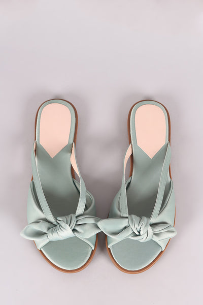 Liliana Satin Slip on Sandal