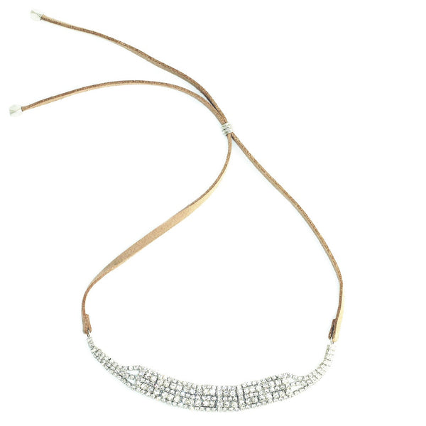 Crystal Art Deco Choker