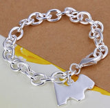 Silver Plated Dog Charm Bracelet - Proceeds go to Animal Rescue - ruby & sofia