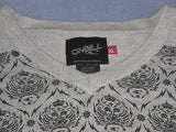 O'Neill Cotton Knit Tribal Monkey Crew V Sweater M - ruby & sofia
